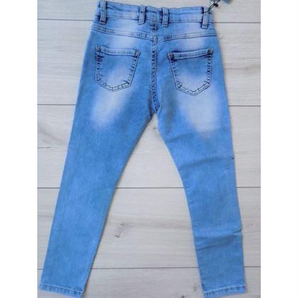 Jeansy z koralikami 2