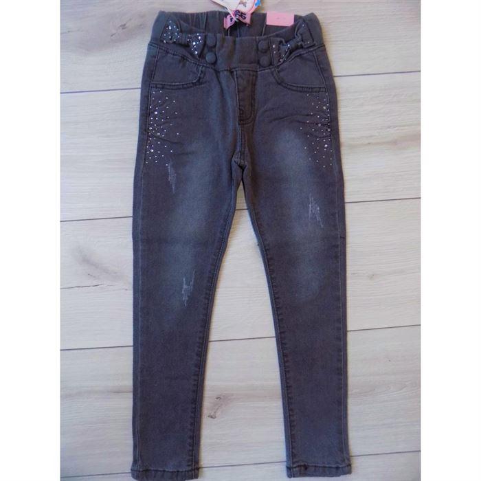 Szare jeansy 1