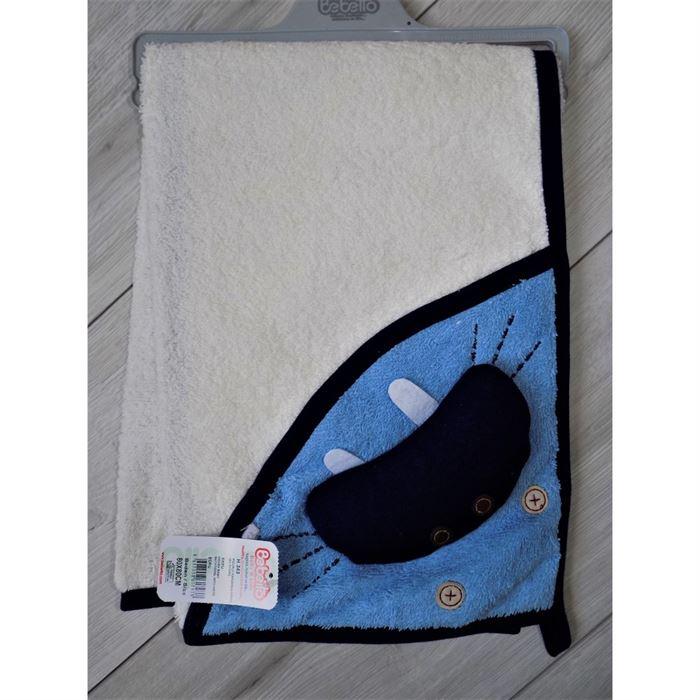 Ręcznik z ozdobną kieszenią