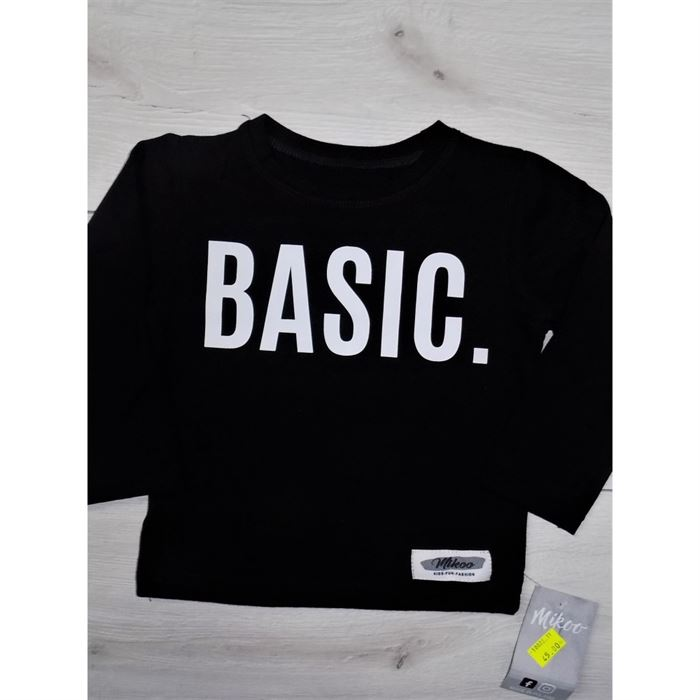 "Longsleeve ""Basic"" czarny"
