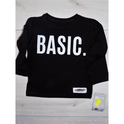 "Longsleeve ""Basic"" czarny 1"