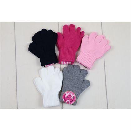Rękawiczki gładkie dla dziewczynki 1