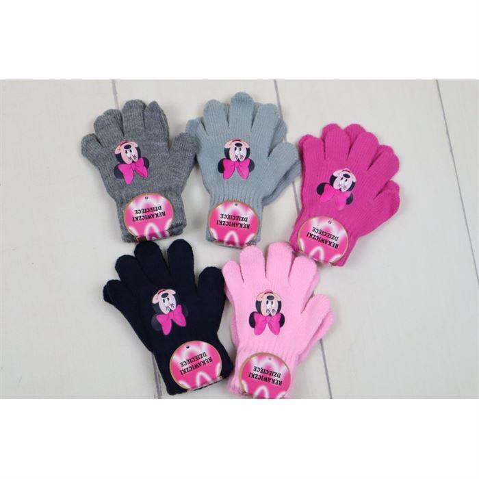 Rękawiczki 5-palców z Myszką Miki