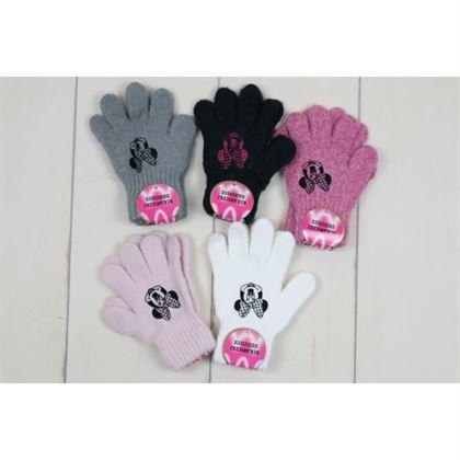 Rękawiczki z Myszką Miki czarną