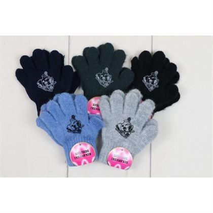 Rękawiczki 5-palców dla chłopca z pieskiem