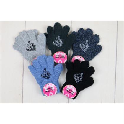Rękawiczki 5-palców dla chłopca z pieskiem 1