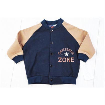 Bluza ZONE z karmelowymi rękawami 1