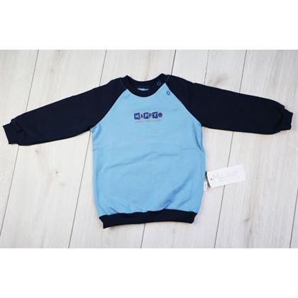 Błękitno-granatowa bluza ZONE