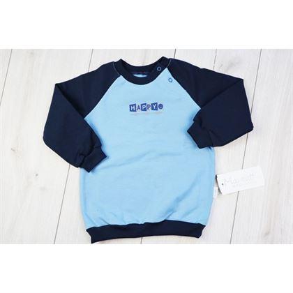 Błękitno-granatowa bluza ZONE 1