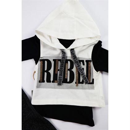 Komplet dresowy dla dziewczynki REBEL