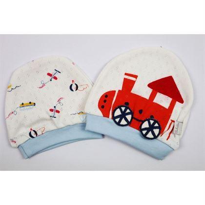Komplet 2 czapeczki dla niemowlaków