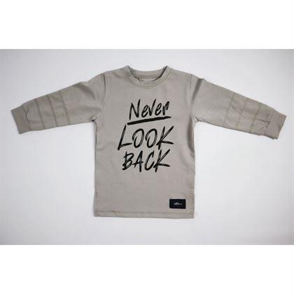 """Bluza """"Never Look Back"""" z basicowego materiału 2"""