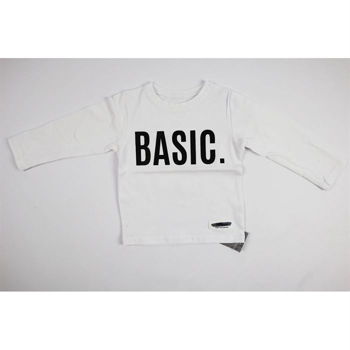 "Longsleeve ""Basic"" biały"