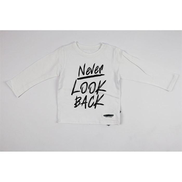 "Longsleeve ""Never look back"""