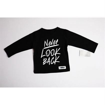 "Longsleeve ""Never look back"" 1"