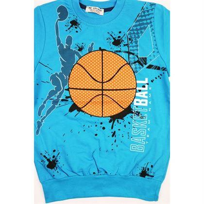 Bluza basketball niebieska