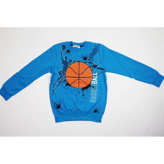 Bluza basketball niebieska 1