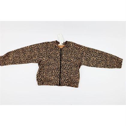 Rozpinana bluza panterkowa