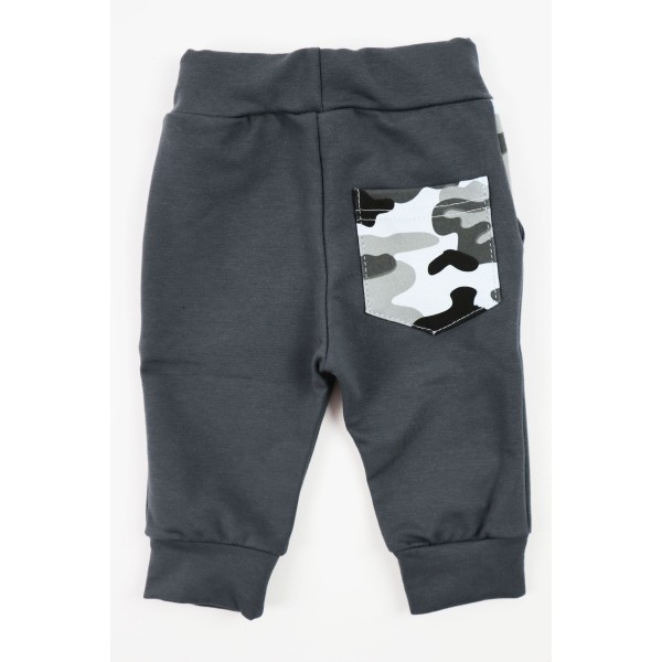 Komplet Gamex body i spodnie szare moro 4