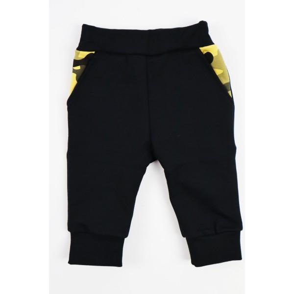 Komplet Gamex body i spodnie musztardowe moro 3