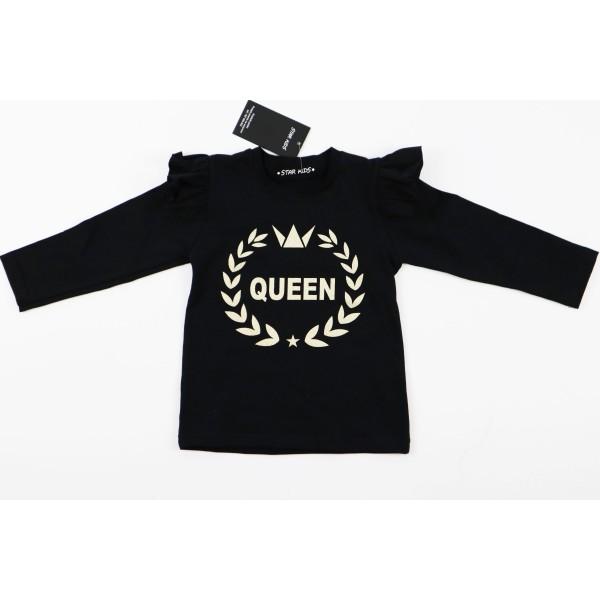 Czarny longsleeve Queen 2