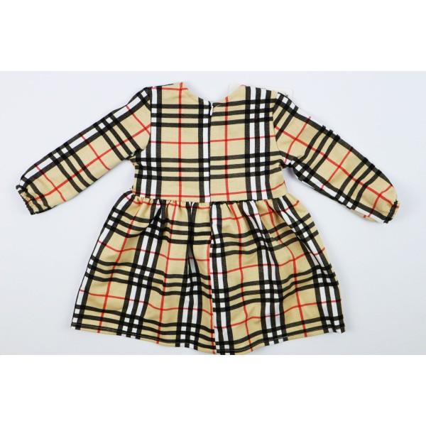 Sukienka dla dziewczynki w kratkę wzór Burberry 1