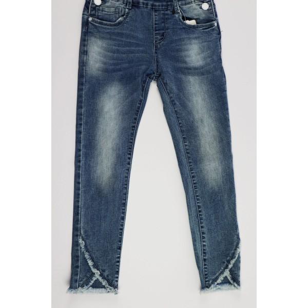 Jeansowe ogrodniczki 2