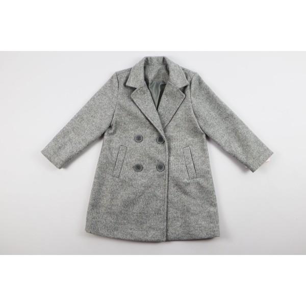 Szary płaszcz prochowiec