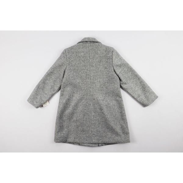 Szary płaszcz prochowiec 4