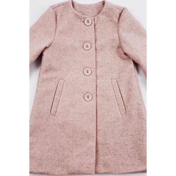 Prochowiec płaszcz różowy