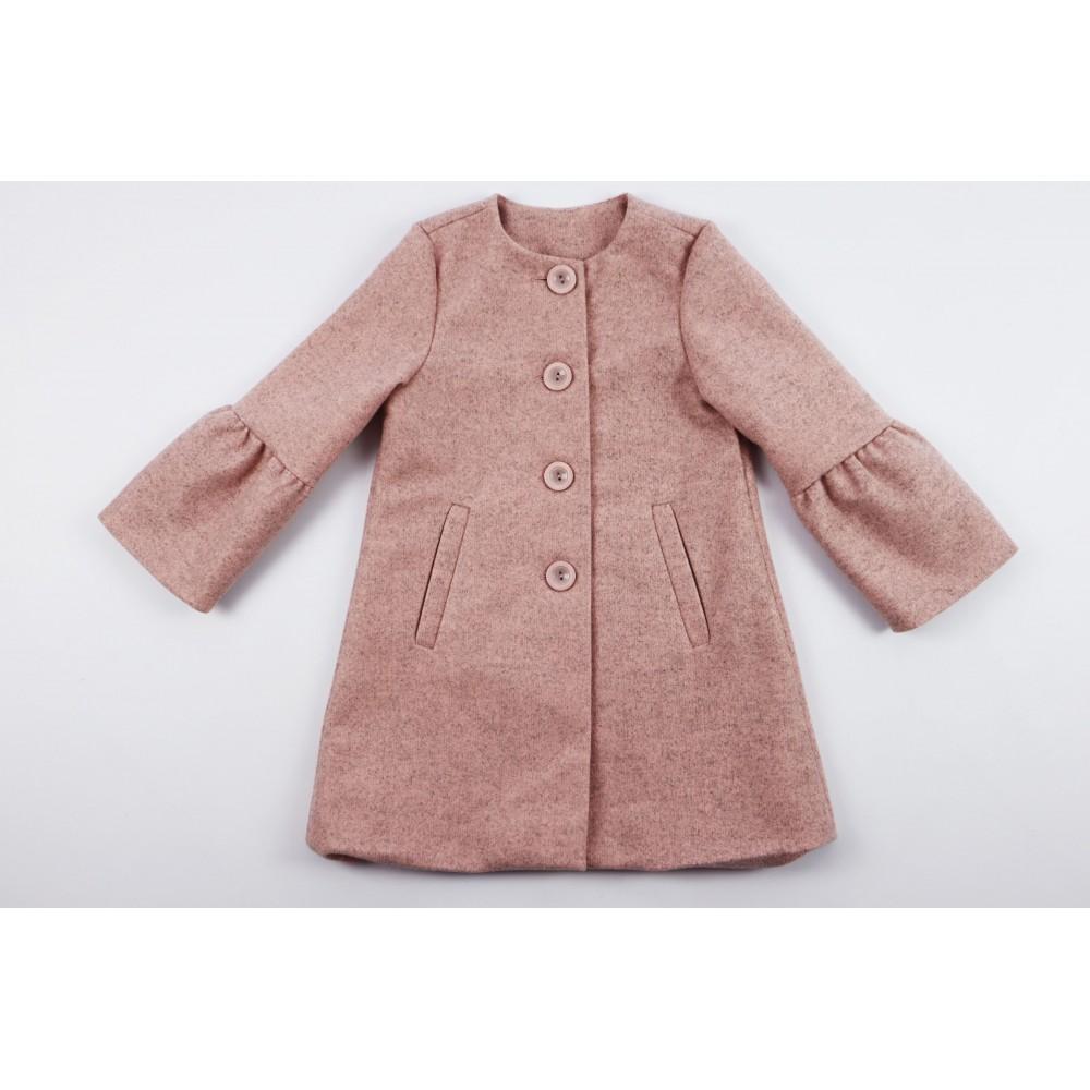 Prochowiec płaszcz różowy 1