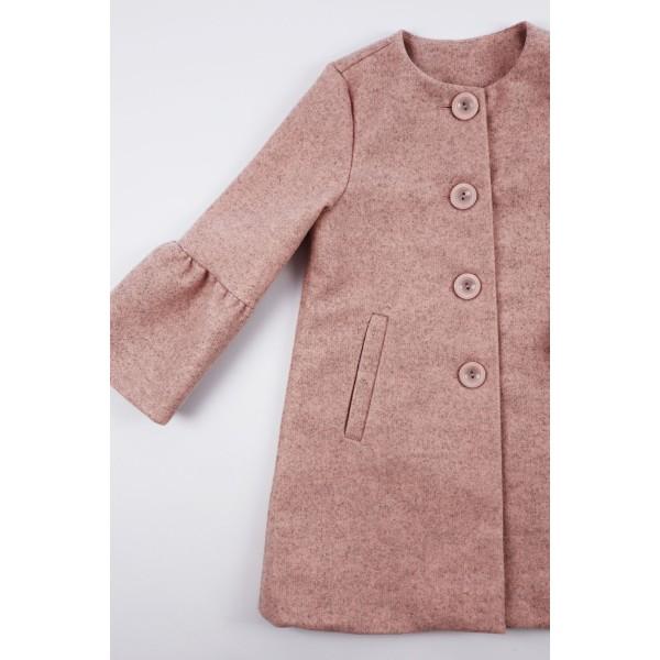Prochowiec płaszcz różowy 3