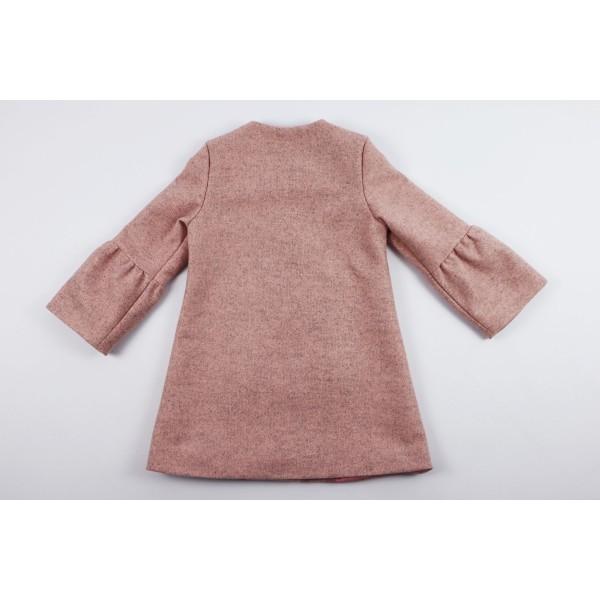Prochowiec płaszcz różowy 4