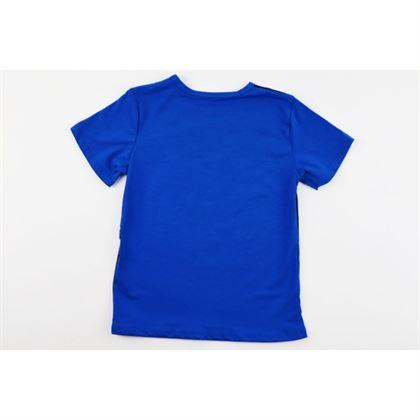 Szafirowy t-shirt unisex z grafikami na przodzie Among Us 2