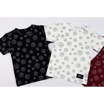 T-shirt dla chłopca z buźkami 3