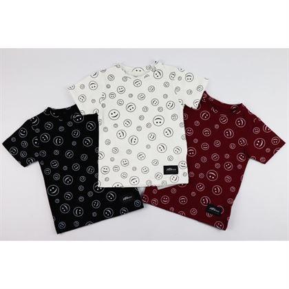 T-shirt dla chłopca z buźkami 4