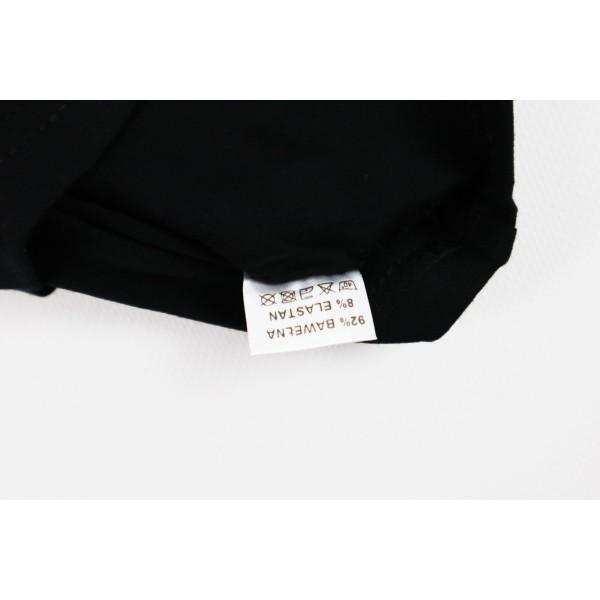 T-shirt czarny dla dziewczynki Miki Boss lady 1