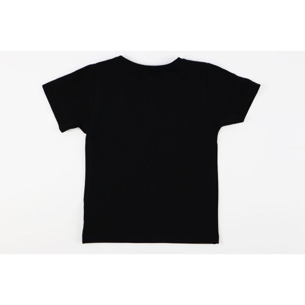 T-shirt czarny dla dziewczynki Miki Boss lady 2