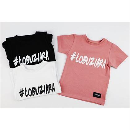 T-shirt dla dziewczynki z napisem Łobuziara 4