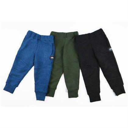 Spodnie bojówki dla chłopca ze ściągaczami