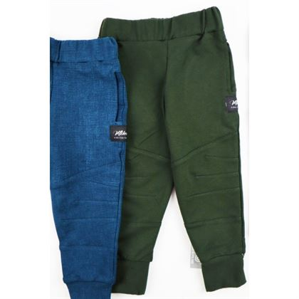 Spodnie bojówki dla chłopca ze ściągaczami 4