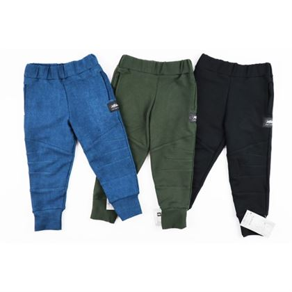 Spodnie bojówki dla chłopca ze ściągaczami 8