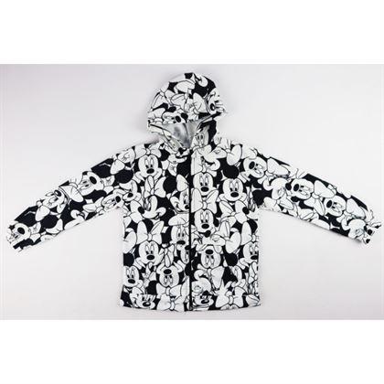 Bluza z kapturem MIKI czarno-biała unisex