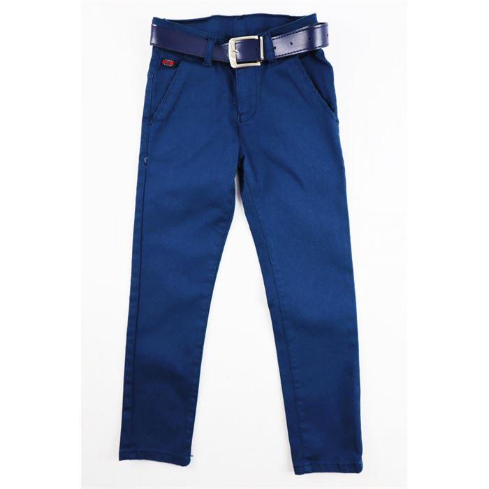 Eleganckie spodnie granatowe dla chłopca