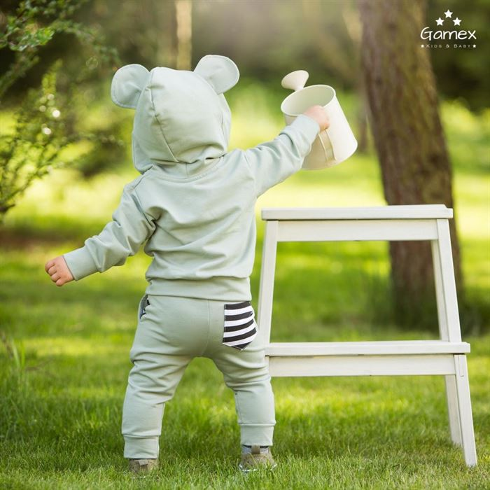 Dres Gamex chłopięcy uszka MIKI bluza i spodnie