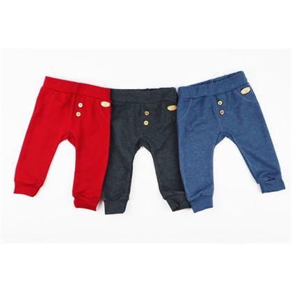 Spodnie chłopięce niemowlak Bambarillo z guziczkami