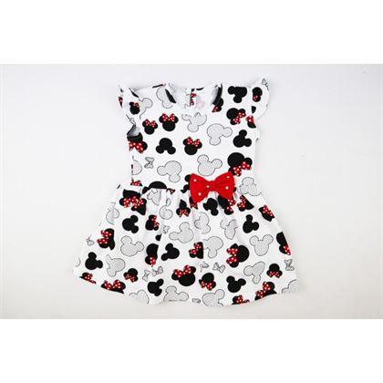 Sukienka dziewczęca MIKI Bambarillo z kokardką