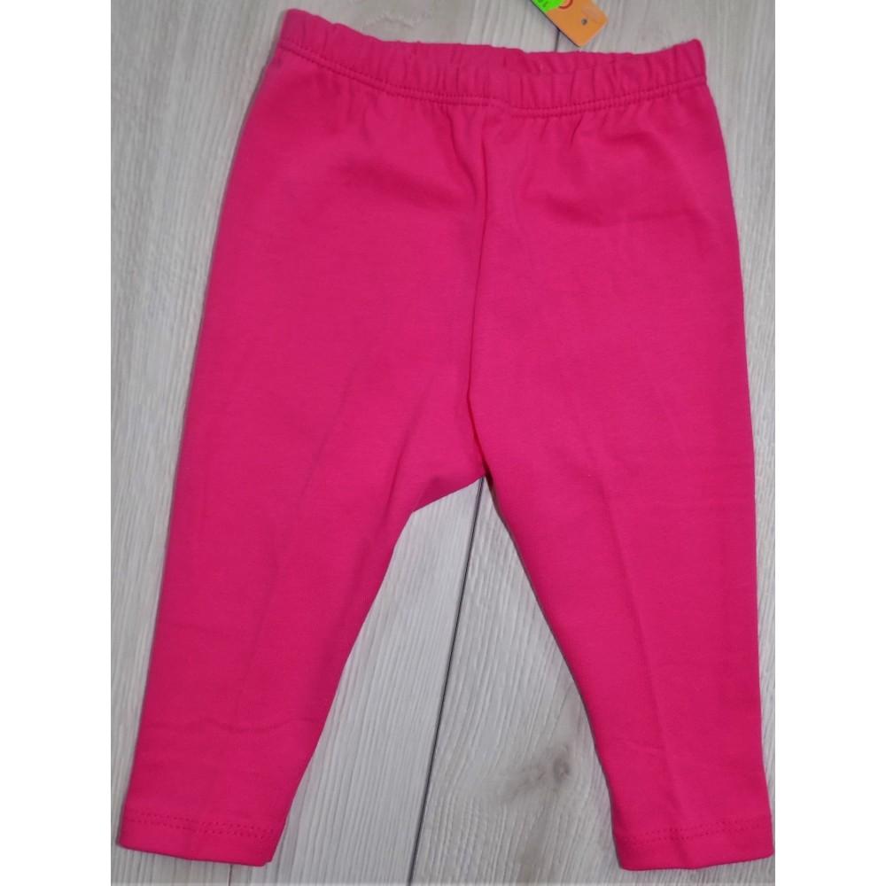 Różowe legginsy basic