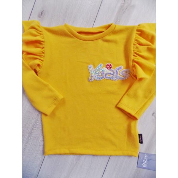 """Musztardowy sweter """"Years"""" 1"""