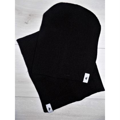 Komplet basic czapka i komin 1